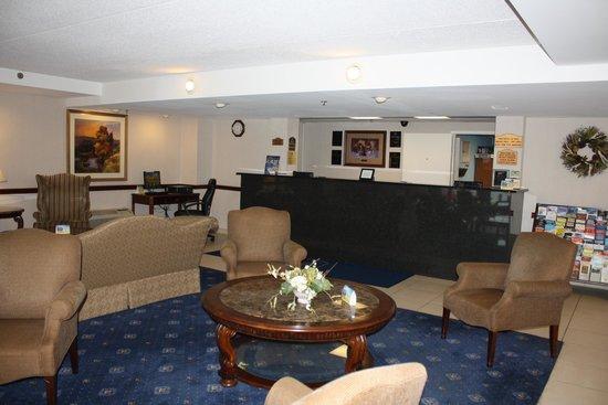 BEST WESTERN Mount Vernon/Ft. Belvoir: Best Western lobby