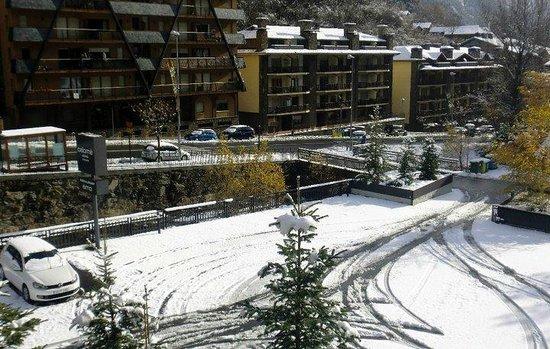 Hotel Palome: Maravilloso amanecer, en mi balcón.