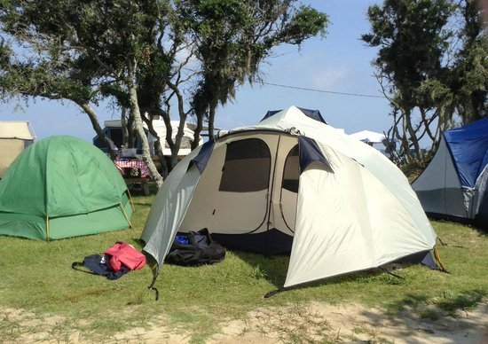 Frisco Woods Campground: Nice tent camp site