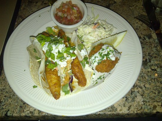 Hop's Downtown Grill : Fish Taco