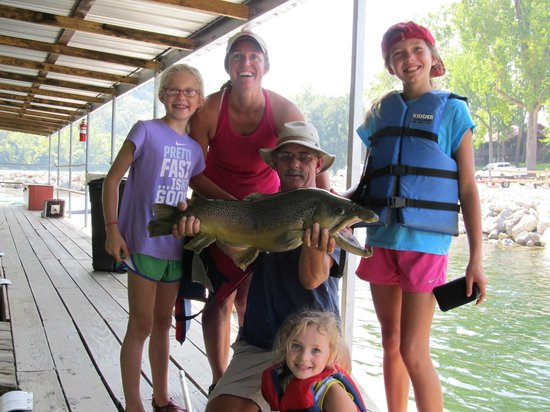 Stetson's on the White: Big fish guided trip
