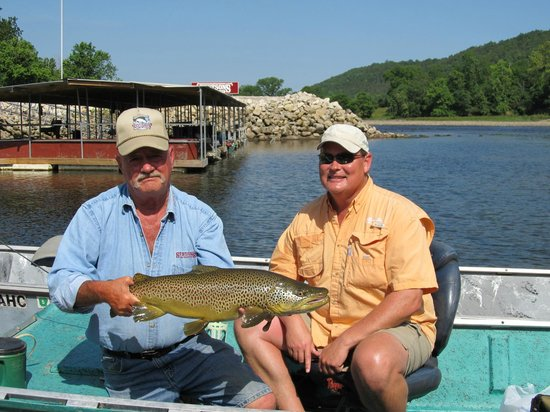 Stetson's on the White: Beautiful german brown trout