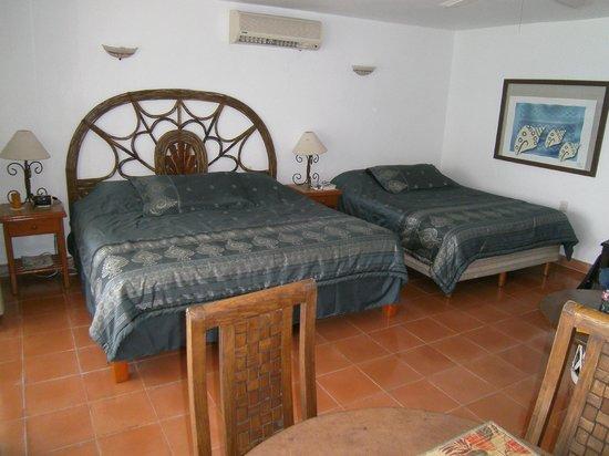 Villa Aldora: Sleeping area of Barracuda Suite