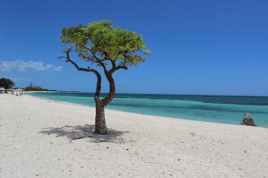 Playa Ancon: vista do lado direito da praia