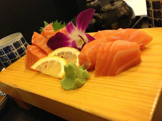 Sankai Japanese Restaurant: High Quality Sashimi!