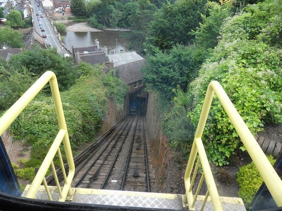 Bridgnorth Castle Hill Railway: At the top of the railway