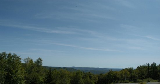 Rose and Goat Retreat: View from the Second Floor Deck