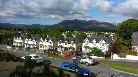 Chelmsford House Lakes of Killarney: View from upstairs room (on the left as you look at the front of house)