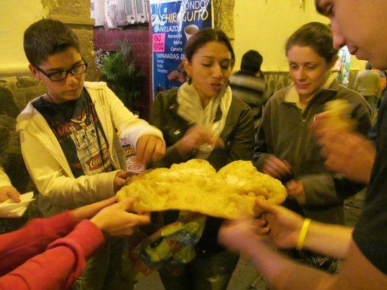 Community Hostel: Food tour