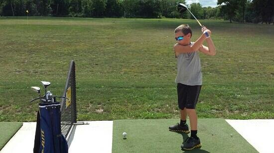 LaSalle, IL: Had fun at driving range.