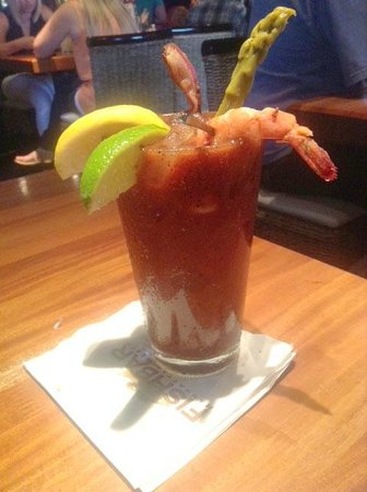 Fishbar Manhattan Beach Seafood Restaurant: Fishbar Bloody Mary