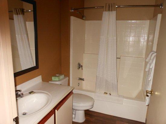Extended Stay America - Houston - Westchase - Westheimer : bathroom
