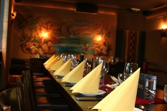 CapeTown: Saal & Restaurant mit insgesamt ca. 120 Plätzen