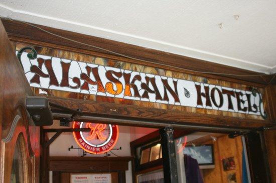 The Alaskan Bar: The Alaskan Hotel - Juneau, AK