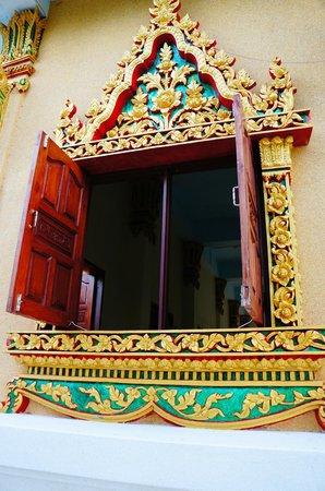 Pagoda Khao Hua Jook : Temple window