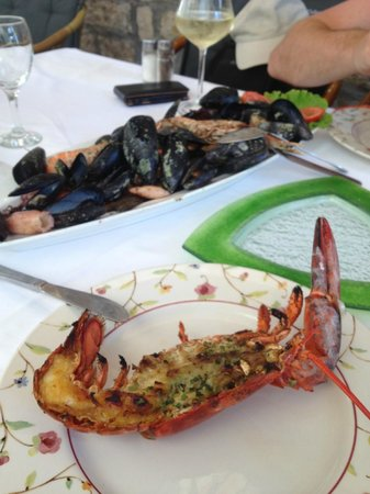 Restaurant Antunini: Delicious authentic Croatian seafood lunch