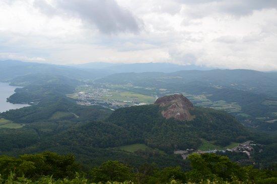 Showashinzan: 有珠山からの昭和新山