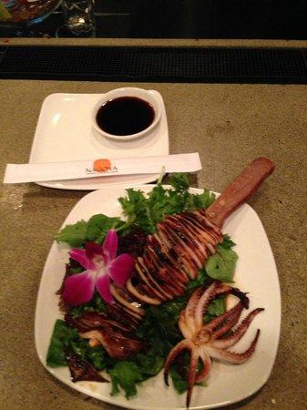 Nagoya Japanese Steakhouse and Sushi : Grilled squid