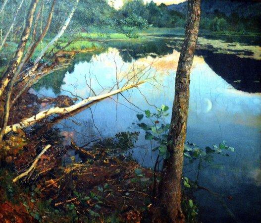 Nationalgalerie: Eilif Peterssen, Summer Night (1886)