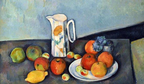 Nationalgalerie: Cezanne, Still Life (1886)