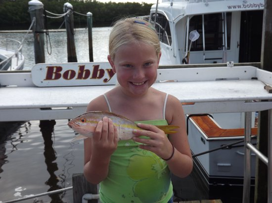 Bobby B Fishing Charters: Even little fish for the little ones!