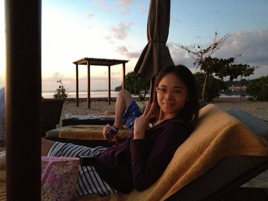 Kayumanis Nusa Dua Private Villa & Spa: Beach sunrise breakfast