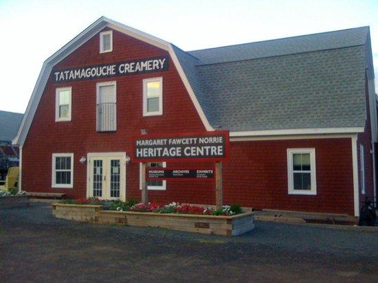 Tatamagouche, Kanada: Museum/Heritage Centre at Creamery SQ.