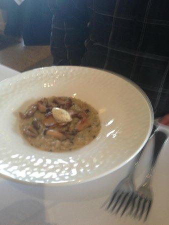 Margan Restaurant: Mushroom Risotto