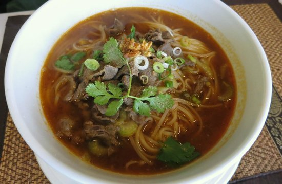 Prik Nam Pla: Beef Noodle