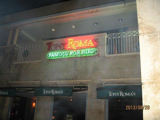 Tony Roma's : エントランス
