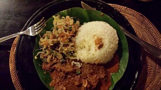 Asmara Restaurant & Lounge: Beefcurry