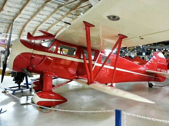 Canadian Museum of Flight: Lovely red biplane