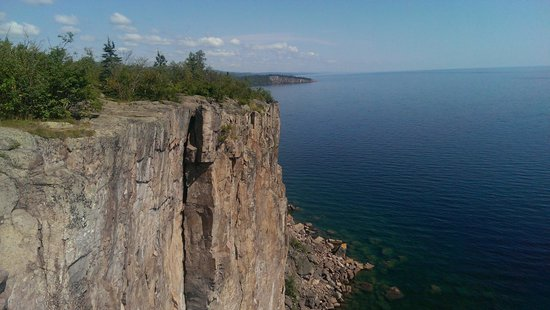 Beaver Bay, MN: great view one minute from parking spot