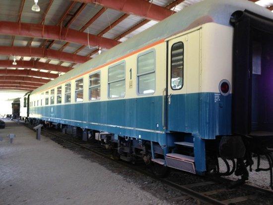 Newport News, VA: Berlin Duty Train-passenger coach (1945-1990)