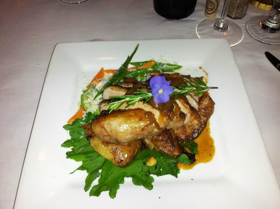 April's at Nye Beach : Roasted Duck Breast