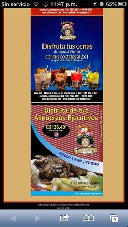 Asados El Gueguense: Delicias al Carbón !!!
