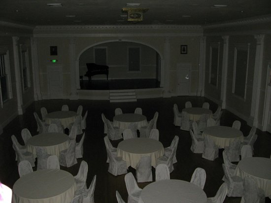 Stanley Hotel Tour: View from Balcony of Concert Hall