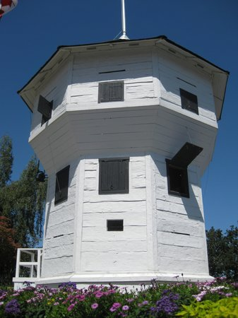 Harbourfront Walkway: The Bastion blockhouse.