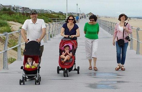 The Breakers on the Ocean: Walk on the Board Walk