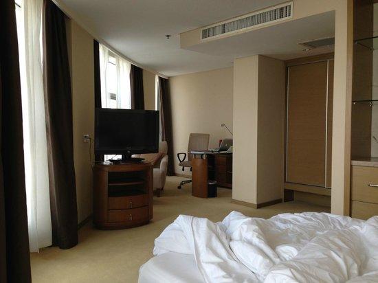 Roying Hotel: Zimmer - Arbeitsbereich