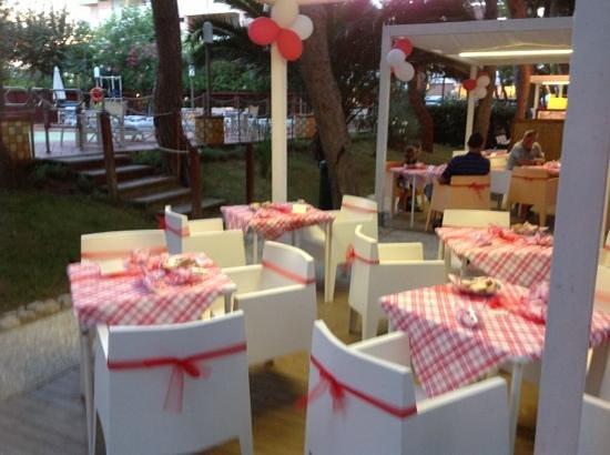 Hotel Baltic: cena campagnola