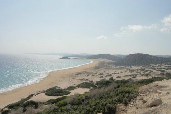Karpas Peninsula: Карпас похож на лежащую утку