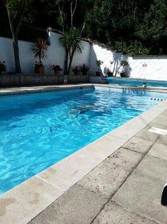 The Havelock: enjoying the pool