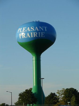 Pleasant Prairie Premium Outlets: The Water Tower which is near the mall.