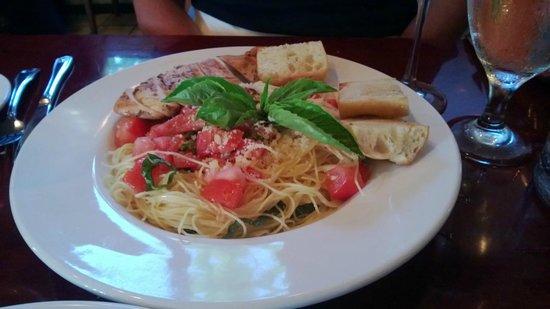 Kauai Pasta Lihue : Capellini Pomodoro
