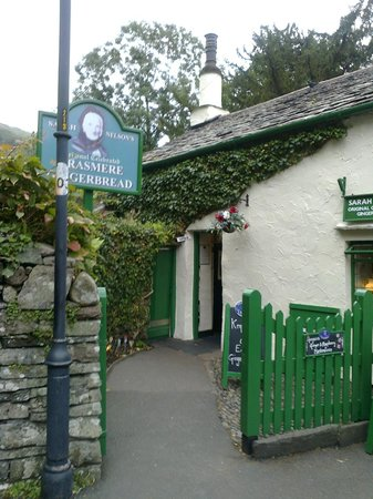 The Grasmere Gingerbread Shop (Sarah Nelson's) : TheGiongerbread shop take two
