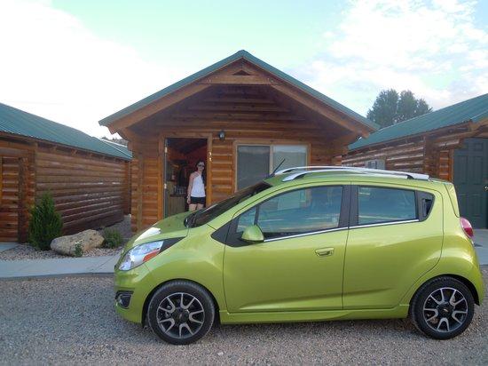 Bryce Canyon Inn: esterno della cabin