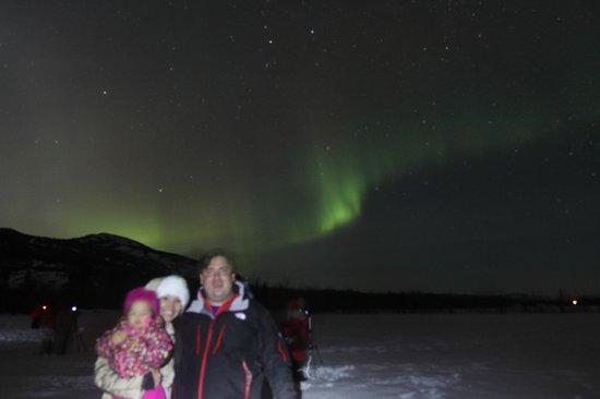 Best Western Gold Rush Inn: Aurora Boreal