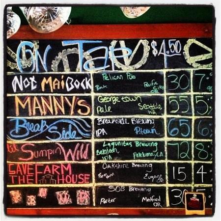 The Vista Pub: Beer!!!!