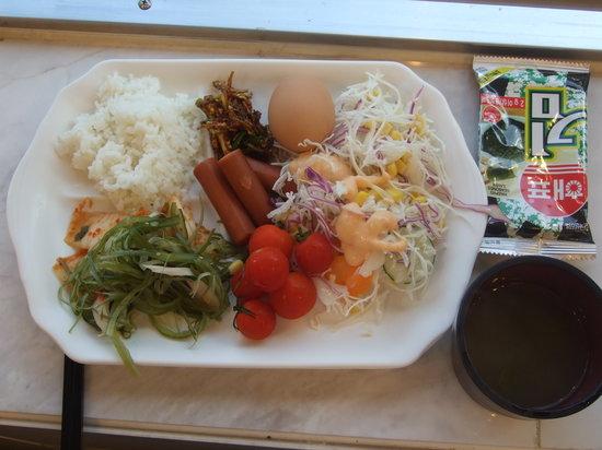 Toyoko Inn Busan No.1: 朝食の一例